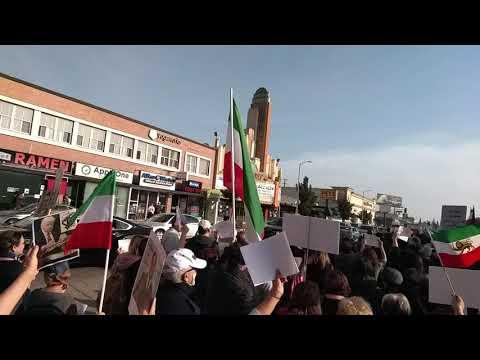 اعتراضات تظاهرات سراسری سال ۹۶ در لس انجلس کالیفرنیاProtests against Islamic regime in Iran