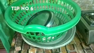கிட்சன் எப்பவும் சுத்தமாகவும்,ஆர்கனைஸ் ஆகவும் வைத்து கொள்ள இதை செய்யுங்கள் || 7 tips to keep clean