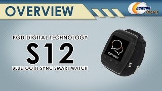 CNPGD S12 Wearable Smart Watch Overview - Newegg Lifestyle