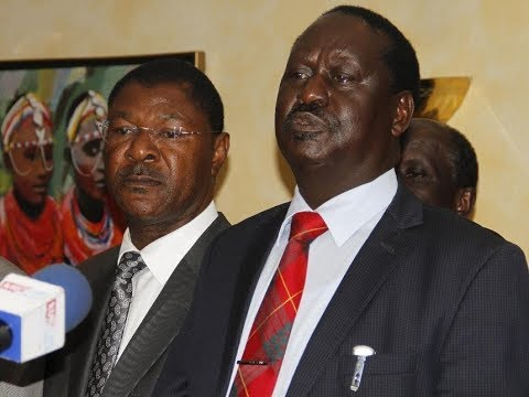 Raila Odinga's surprising move as NASA supporters conduct demonstrations against IEBC officials