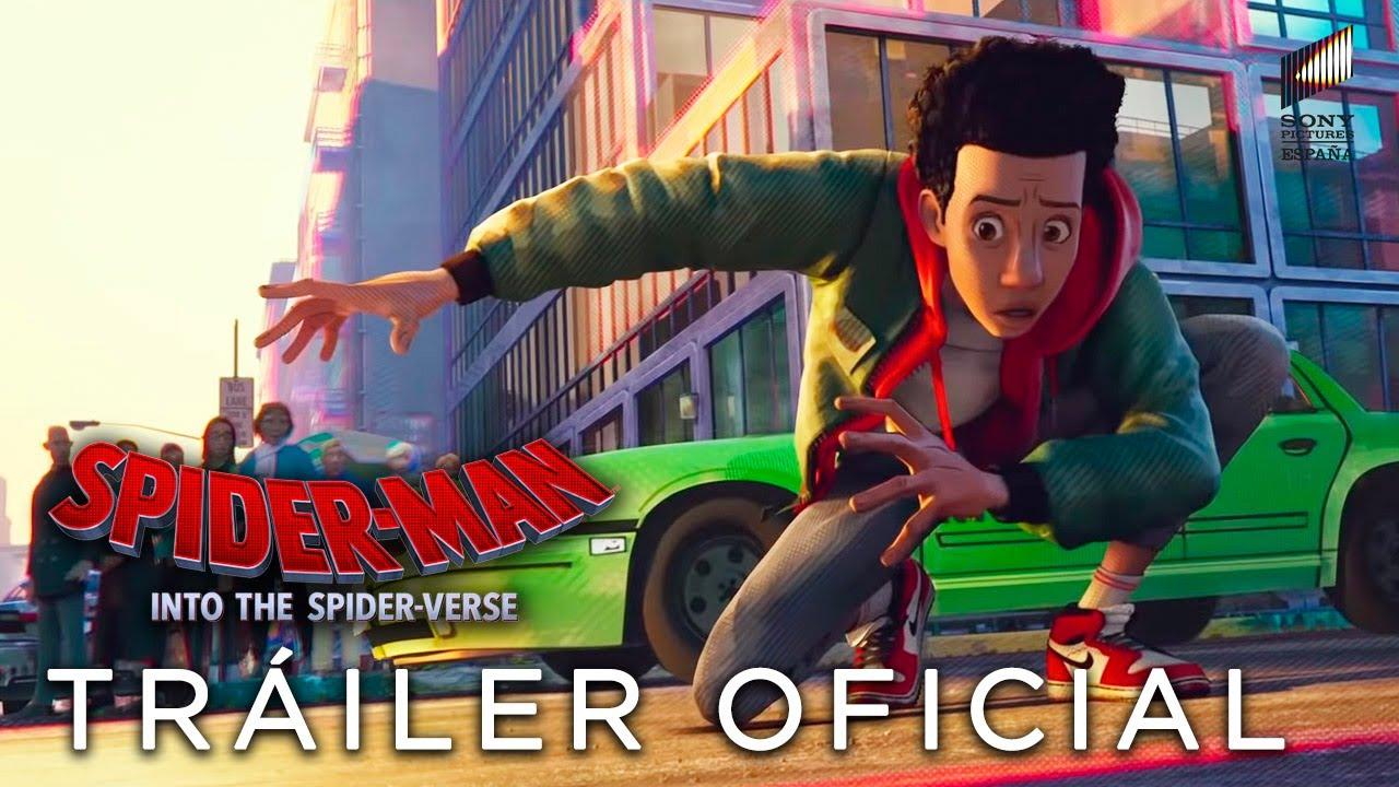 Spider Man Un Nuevo Universo Tráiler Oficial Hd En Español Ya En Cines Youtube
