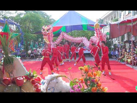 Múa Lân Sư Rồng -Tết Trung Thu, Trường Mầm Non Thiên Hương 2016