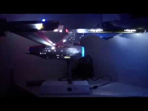 1 350 USS Enterprise Refit NCC 1701 Video 10