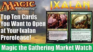 MTG Top 10 Ixalan Cards You Want to Open This Weekend at Your Prerelease!