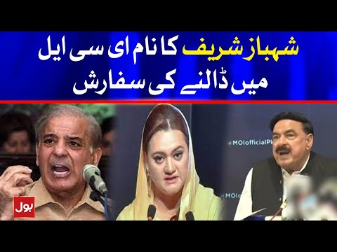 Maryam Aurangzeb response on adding Shahbaz Sharif Name on ECL