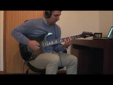 Megadeth - Black Curtains - Guitar Cover