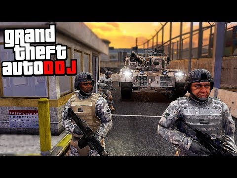 GTA 5 Roleplay - DOJ 25 - Restricted Military Property