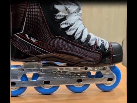 Роликовые коньки на хоккейных ботинках V76. Время исполнения заказа один рабочий день