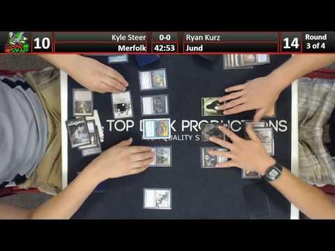 Modern 06/14/16: Kyle Steer (Merfolk) vs Ryan Kurz (Jund)
