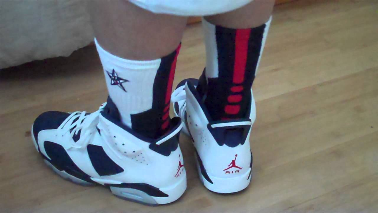 13534bf4c87 On Feet: 2012 Jordan Retro Olympic 6 - YouTube