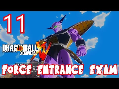 Dragon Ball Xenoverse Parallel Quest 11 Force Entrance Exam - Z-Rank, ALL OBJECTIVES