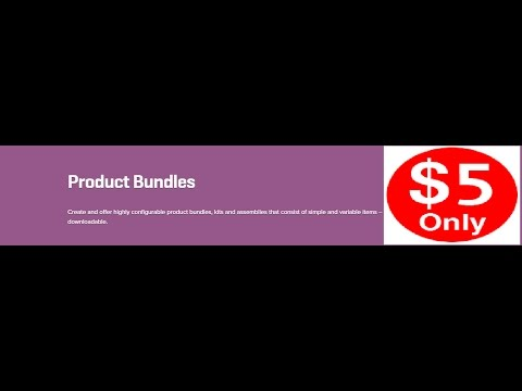 WooCommerce Product Bundles 5.7.11 Extension