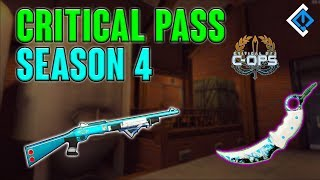 Critical Pass Season 4 - New Skins!