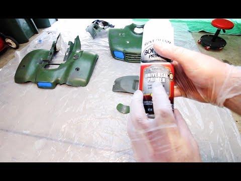 How To Paint ATV Plastics