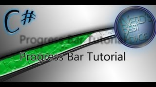 C# Progress Bar Tutorial! | Tut #4