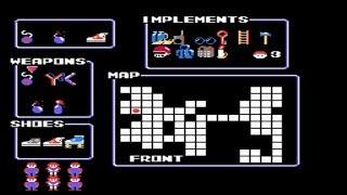 The Goonies II (NES) Walkthrough All Items and Secrets