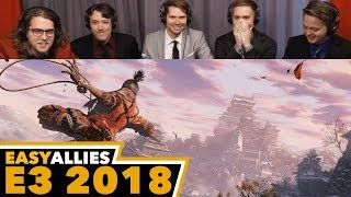Sekiro: Shadows Die Twice - Easy Allies Reactions - E3 2018