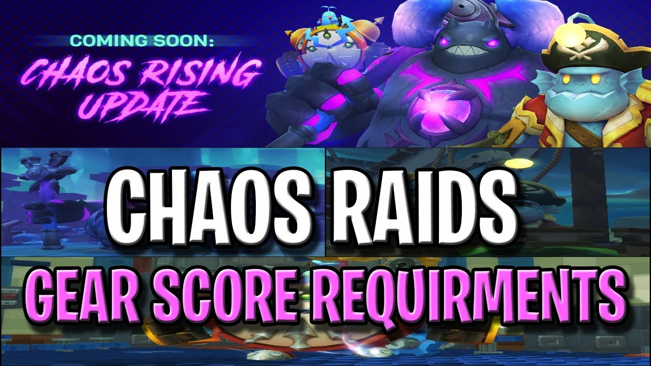 Chaos Raid Gear Score Requirements - MapleStory 2