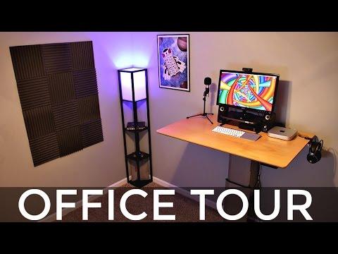 Standing Desk Setup & Office Tour!