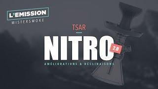 Live spécial chicha Nitro 2.0 | AMÉLIORATIONS ET DÉCLINAISONS