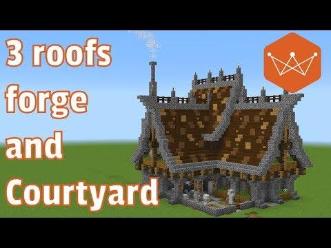 Minecraft Tutorial: How to Build a Medieval Blacksmith ...