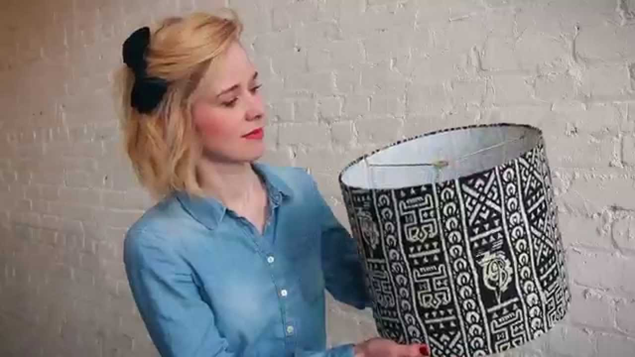 Make a custom drum lampshade in less than an hour make it easy make a custom drum lampshade in less than an hour make it easy with a diy lampshade kit youtube mozeypictures Gallery