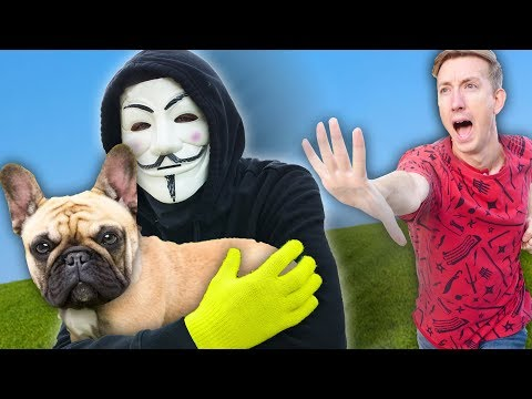 DANIEL'S DOG TAKEN BY HACKERS IN NEW YORK CITY Spending 24 Hours in Extreme Hide and Seek Challenge