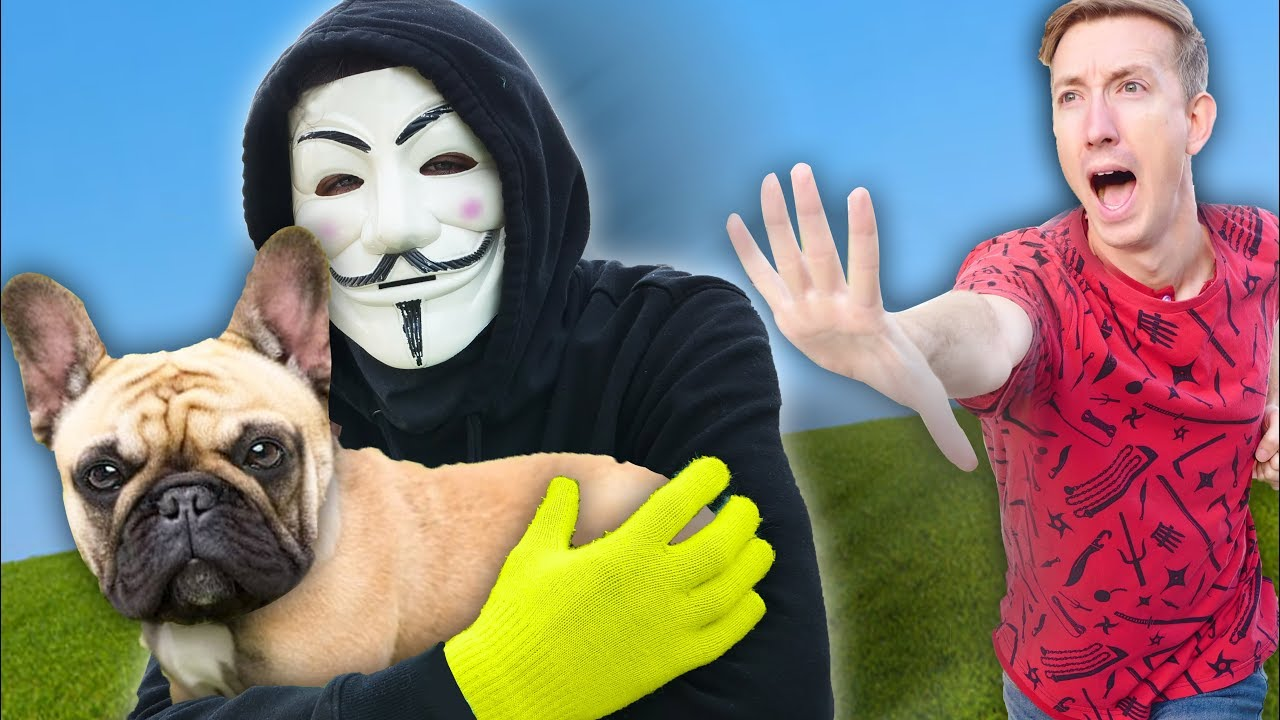 Download DANIEL'S DOG TAKEN BY HACKERS IN NEW YORK CITY Spending 24 Hours in Extreme Hide and Seek Challenge