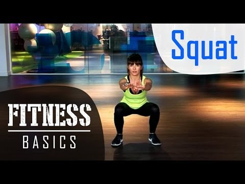 Fitness Basics : comment faire des squats ?