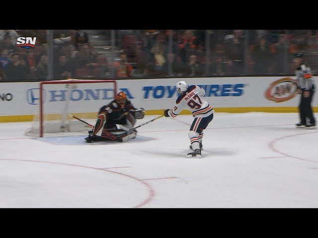 McDavid, Montoya lift Oilers to shootout win in Anaheim