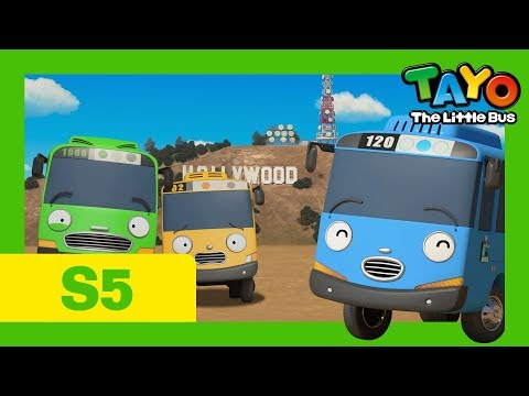 Tayo S5 EP15 l The little buses go to America Part 1 l Tayo the Little Bus thumbnail