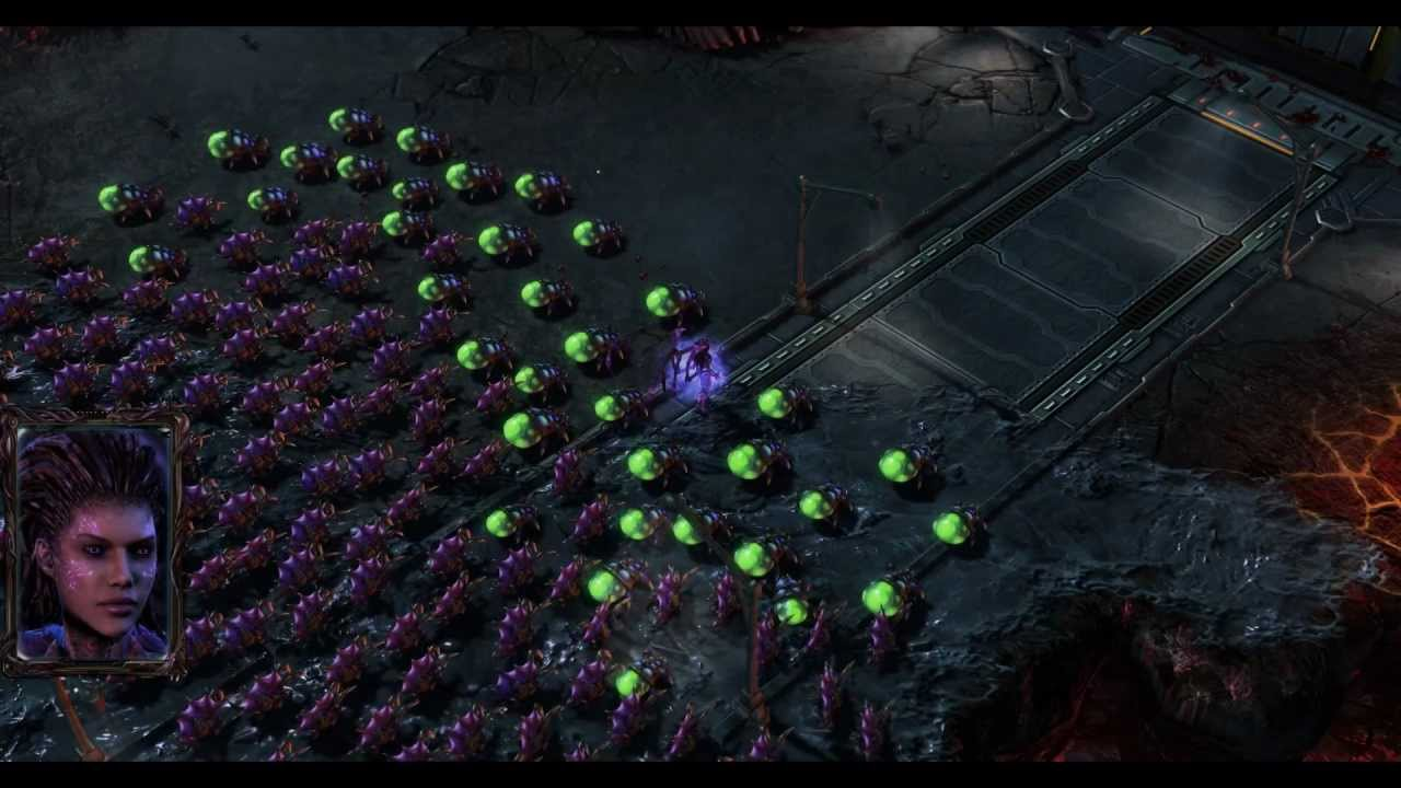 Старкрафт 2 heart of the swarm прохождение