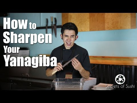How to Sharpen Your Yanagiba