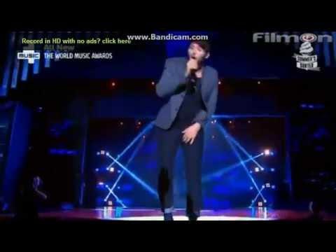 James Arthur  Impossible  World Music Awards 2014