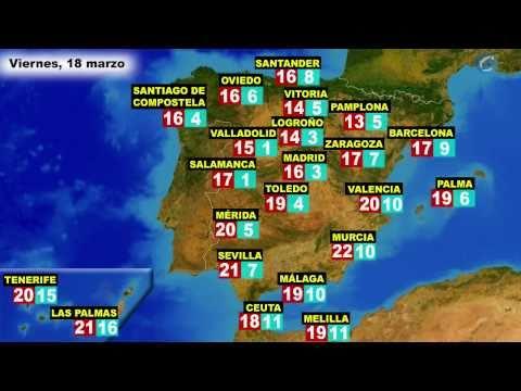 El Tiempo En España Por Ccaa Para Hoy Jueves 17 Y Mañana