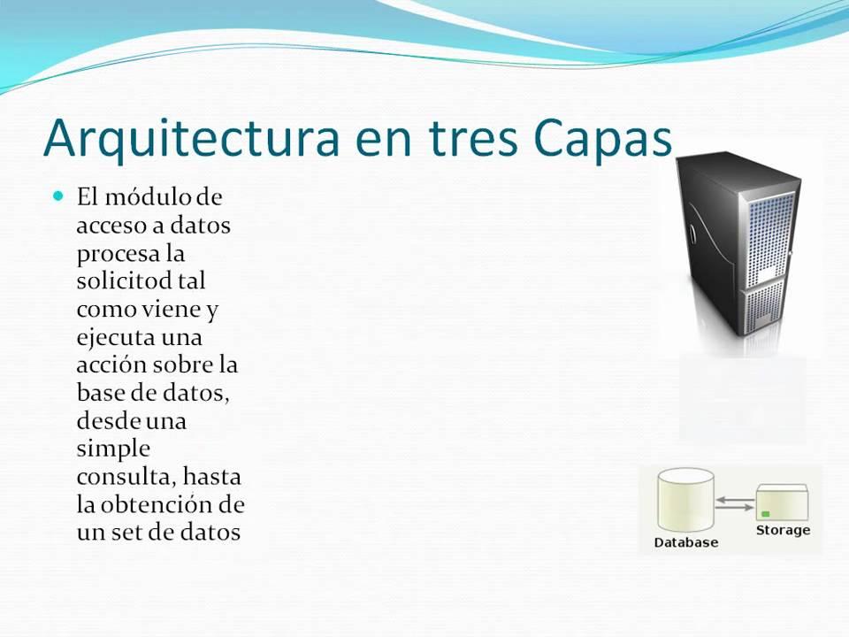 Arquitectura de software programaci n en 3 capas parte 1 for Arquitectura de capas software