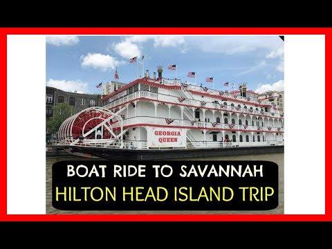 Weekend in Hilton Head Island:  Taking a boat to Savannah Ga | May 2017