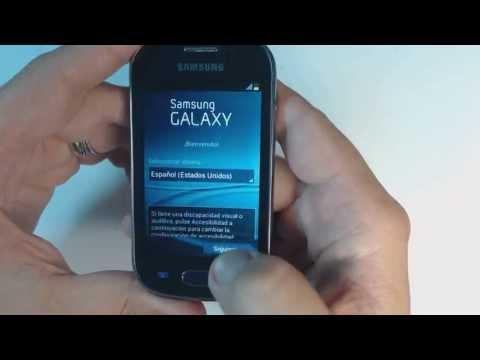 Samsung Galaxy Fame S6810P - How to reset - Como restablecer datos de fabrica