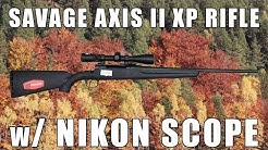 Just In: Savage Axis II XP Rifles With Nikon Scope Package