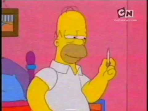 The Simpsons on Cartoon Network Philippines, 2007 (RECREATION)