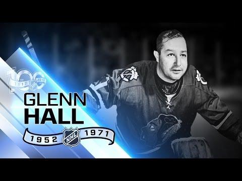 Ironman Glenn Hall started 502 straight games in goal