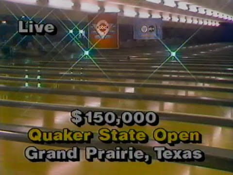 1986 PBA QUAKER STATE OPEN - FULL TELECAST