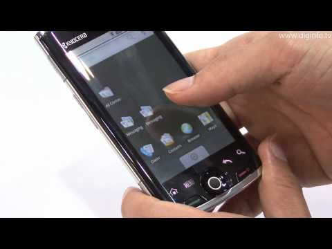 Kyocera's First Android Smartphone : DigInfo