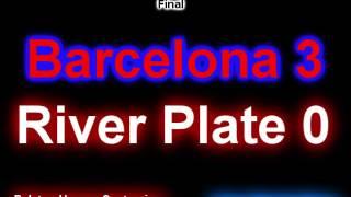 (Relator Enojado) Barcelona 3 River 0 (Sintonia Monumental) Mundial de Clubes 2015