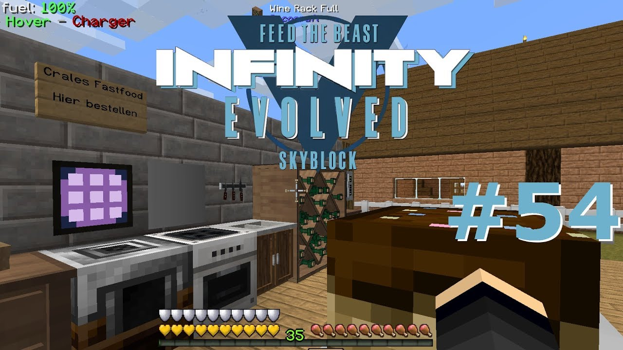 Hightech Kuche Food Automation Minecraft Ftb Infinity Evolved