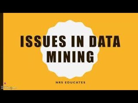 Issues In Data Mining