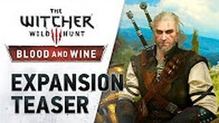 Ведьмак 3 DLC Кровь и Вино - Обзор трейлера
