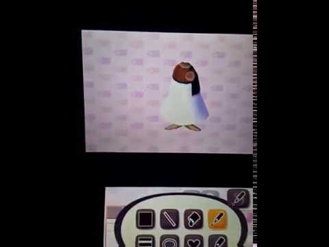 Animal Crossing New Leaf Donut Dress Tutorial German Youtube