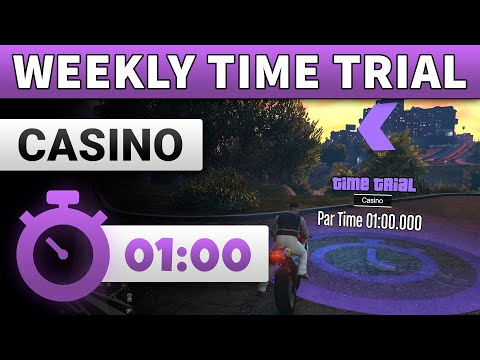 GTA 5 Time Trial This Week Casino | GTA ONLINE WEEKLY TIME TRIAL CASINO (01:00)