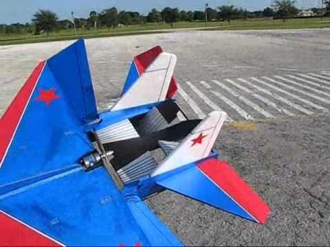 RC Ikarus Foamie Sukhoi Su-27 ~ Super Fast Jet!